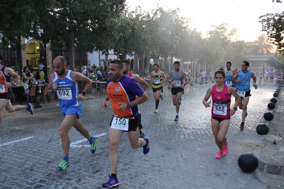 La carrera nocturna de Carmona, suspendida por el coronavirus 1