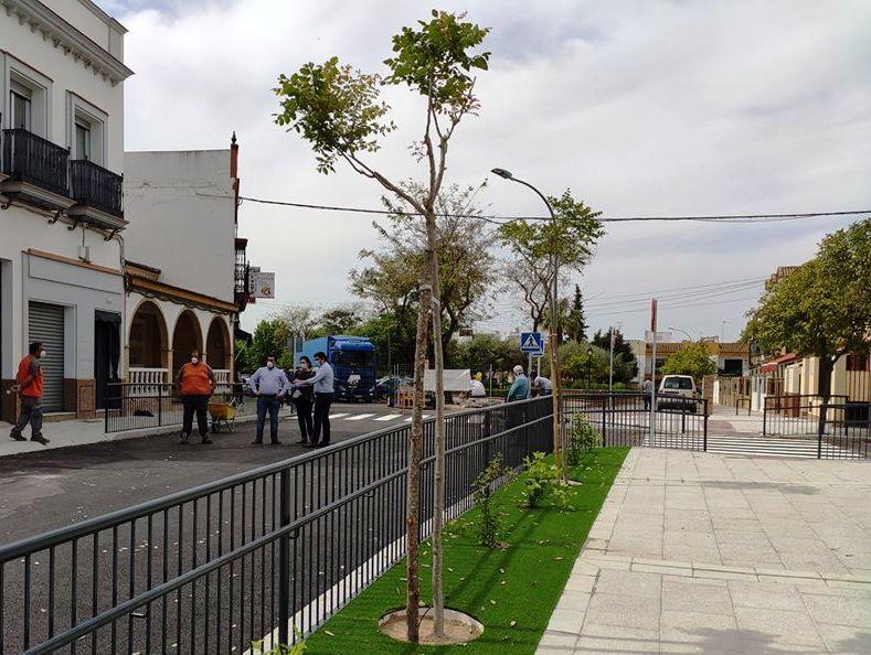 Reabre al tráfico la calle Cañalizo tras la finalización de las obras 1