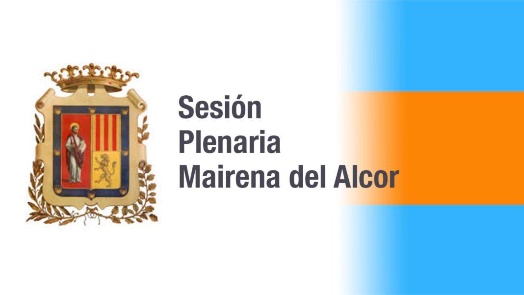 Sesión plenaria de Mairena del Alcor 1