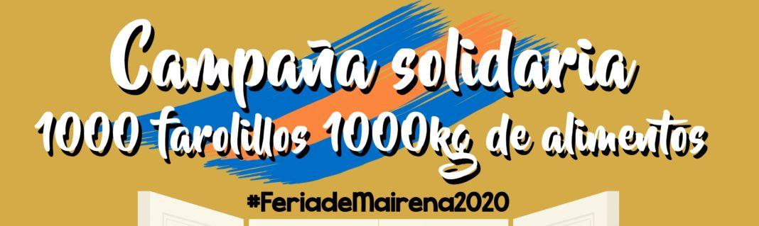 CAMPAÑA SOLIDARIA '1000 FAROLILLOS 1000 KILOS DE ALIMENTOS' 1