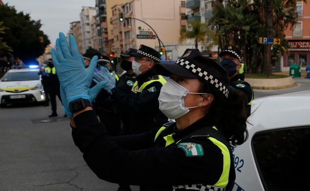30.000 actuaciones de la policía local durante la Semana Santa 1