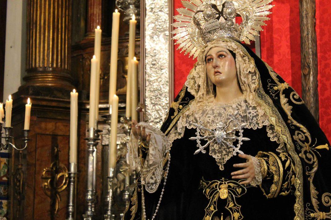 Los Dolores solicita dispensa al Arzobispado de Sevilla para celebrar cultos a su dolorosa titular en otoño