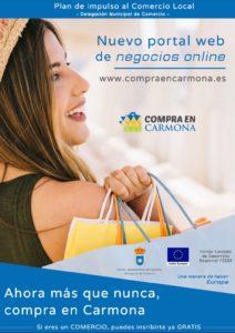 'Compra en Carmona', un directorio de empresas que pretende fomentar el comercio local 1