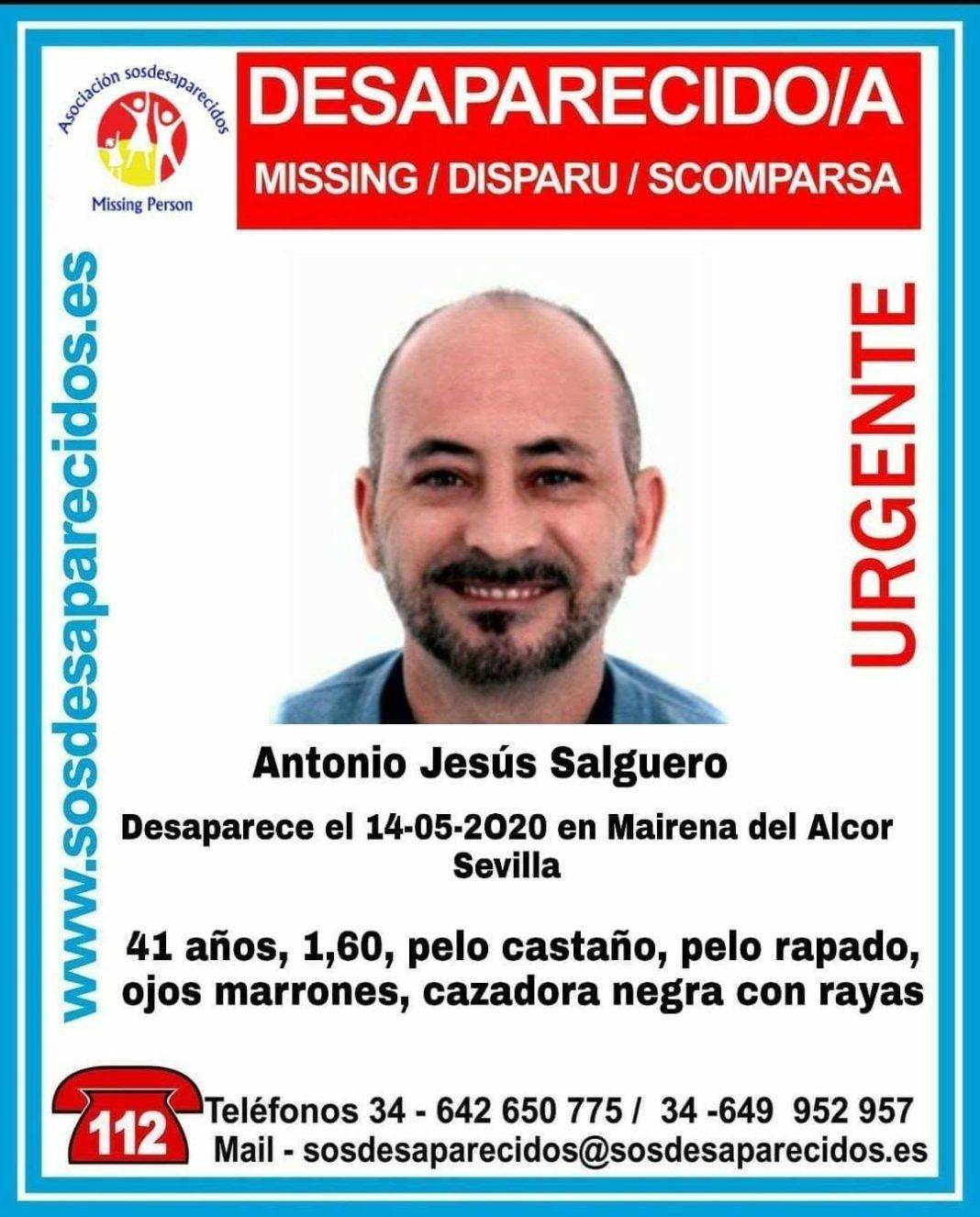 Desaparecido en Mairena del Alcor