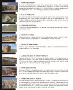Rutas turísticas y medioambientales por Carmona a través de Google Maps 7