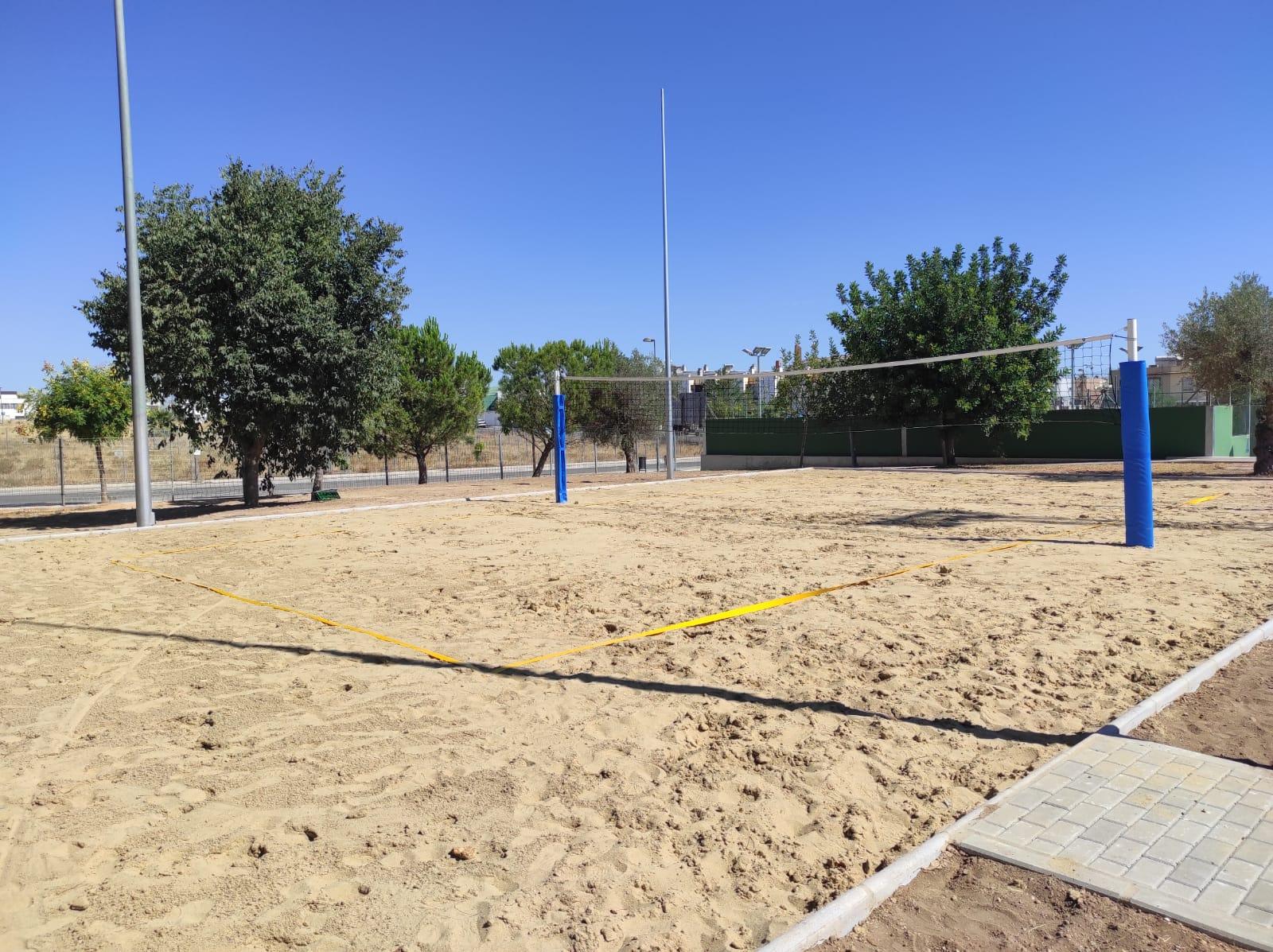 El Ayuntamiento de Alcalá invierte más de 220.000 eurosen obras de mejora en el Complejo Deportivo Distrito Sur 3