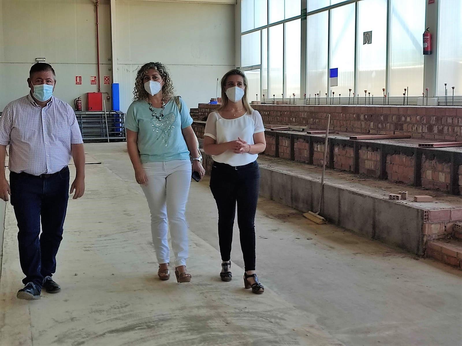 El Ayuntamiento de Alcalá invierte más de 220.000 eurosen obras de mejora en el Complejo Deportivo Distrito Sur 1
