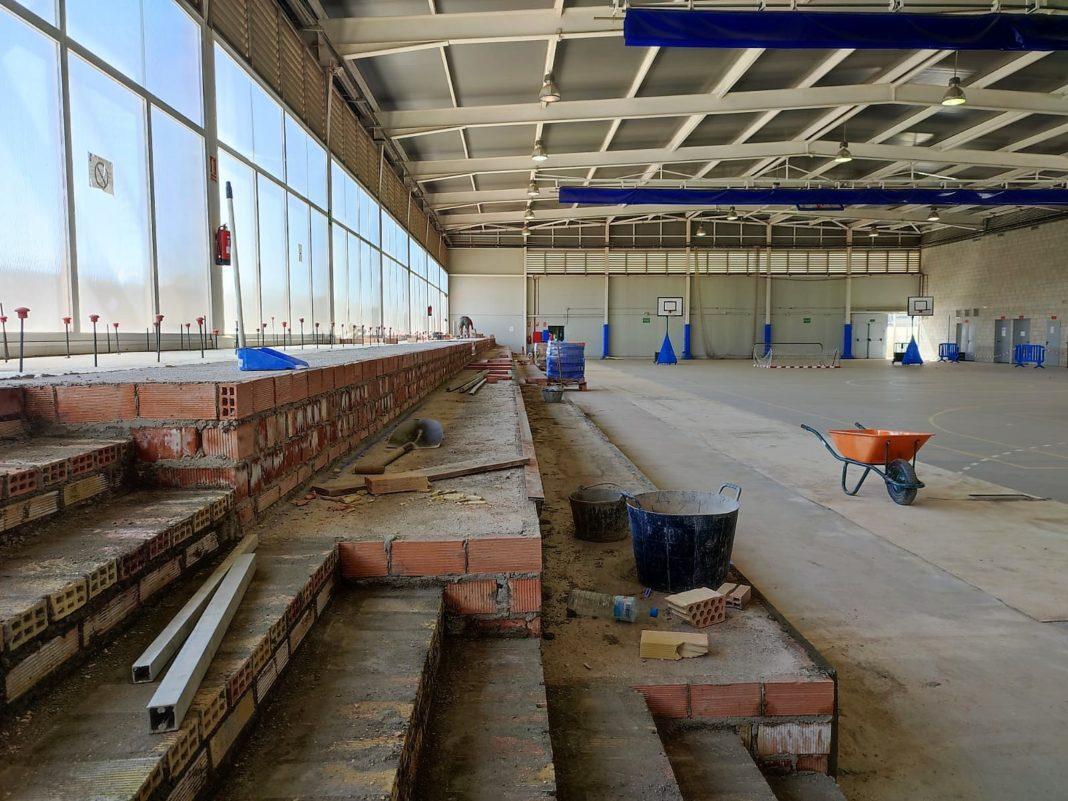 El Ayuntamiento de Alcalá invierte más de 220.000 eurosen obras de mejora en el Complejo Deportivo Distrito Sur 4