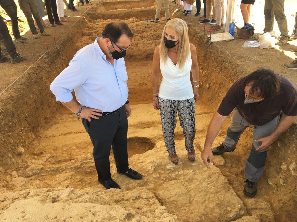 La Junta promueve una excavación en la necrópolis de Carmona para localizar un nuevo mausoleo circular 1